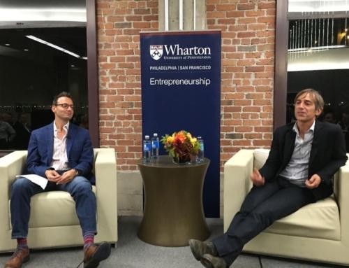 Celebrating Entrepreneurship at Wharton – The Wharton Entrepreneurship Alumni Dinner (10/8/14)