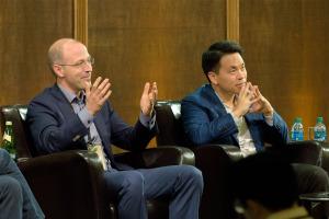 Dan Yates (Opower) & Marcus Ryu (Guidewire Software) talk teambuilding